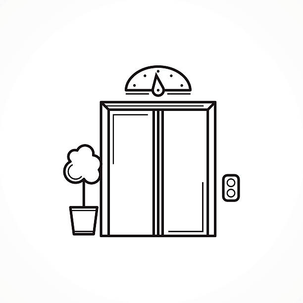 Royalty free elevator clip art vector images