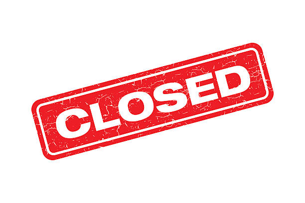cartoon closed sign — Stock Vector © lineartestpilot #38154477  Cartoon Closed
