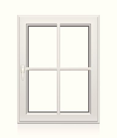 Closed Plastic Window