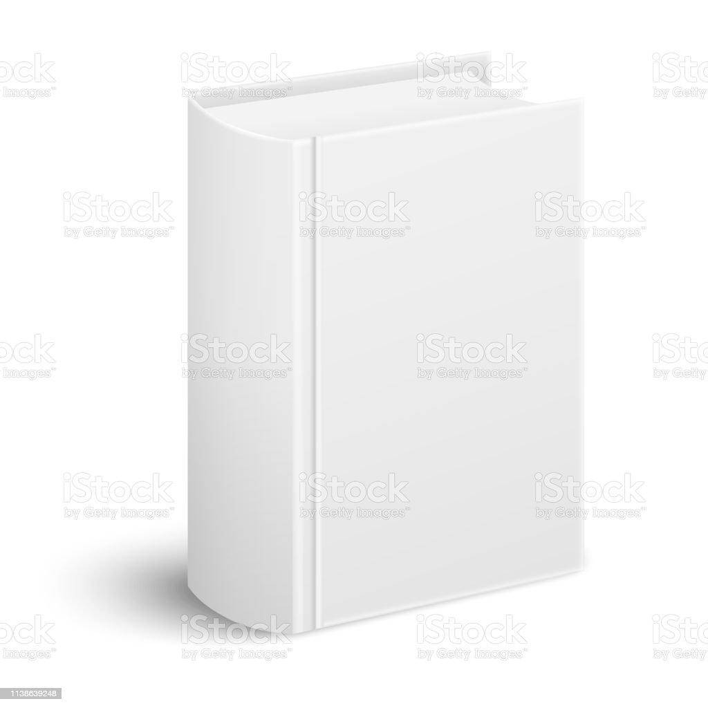 Ferme Realiste Livre Epais Couverture Debout Et La Colonne