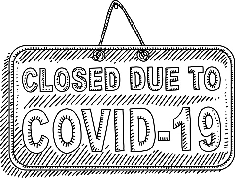 Closed Sign Drawing