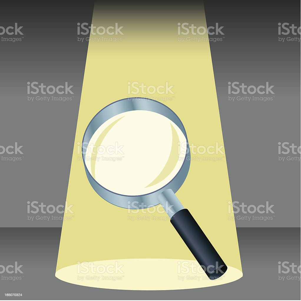 Close-up Examination royalty-free closeup examination stock vector art & more images of chrome