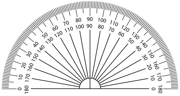 Best Protractor Illustrations, Royalty-Free Vector ...