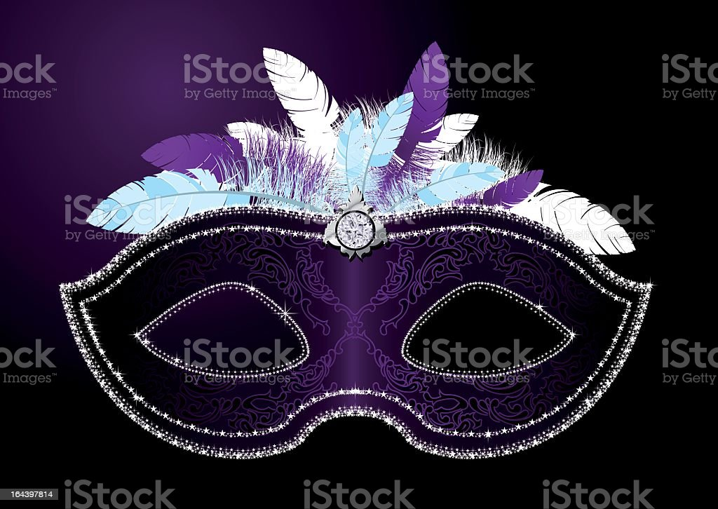 Closeup of a blue masquerade mask royalty-free closeup of a blue masquerade mask stock vector art & more images of carnival - celebration event