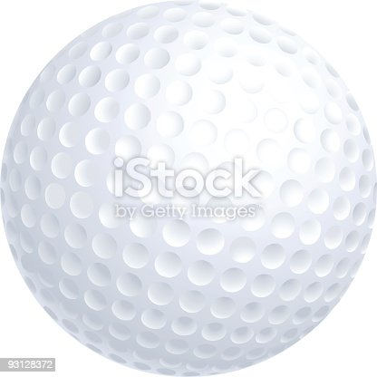 Golf ball vector illustration. Download includes EPS file and hi-res jpeg.  more realistic balls [url=http://www.istockphoto.com/file_closeup.php?id=18953082][img]http://www.istockphoto.com/file_thumbview_approve.php?size=1&id=18953082[/img][/url][url=http://www.istockphoto.com/file_closeup.php?id=21597023][img]http://www.istockphoto.com/file_thumbview_approve.php?size=1&id=21597023[/img][/url][url=http://www.istockphoto.com/file_closeup.php?id=10026674][img]http://www.istockphoto.com/file_thumbview_approve.php?size=1&id=10026674[/img][/url][url=http://www.istockphoto.com/file_closeup.php?id=18718066][img]http://www.istockphoto.com/file_thumbview_approve.php?size=1&id=18718066[/img][/url][url=http://www.istockphoto.com/file_closeup.php?id=15383578][img]http://www.istockphoto.com/file_thumbview_approve.php?size=1&id=15383578[/img][/url][url=http://www.istockphoto.com/file_closeup.php?id=18888983][img]http://www.istockphoto.com/file_thumbview_approve.php?size=1&id=18888983[/img][/url][url=http://www.istockphoto.com/file_closeup.php?id=10854858][img]http://www.istockphoto.com/file_thumbview_approve.php?size=1&id=10854858[/img][/url]