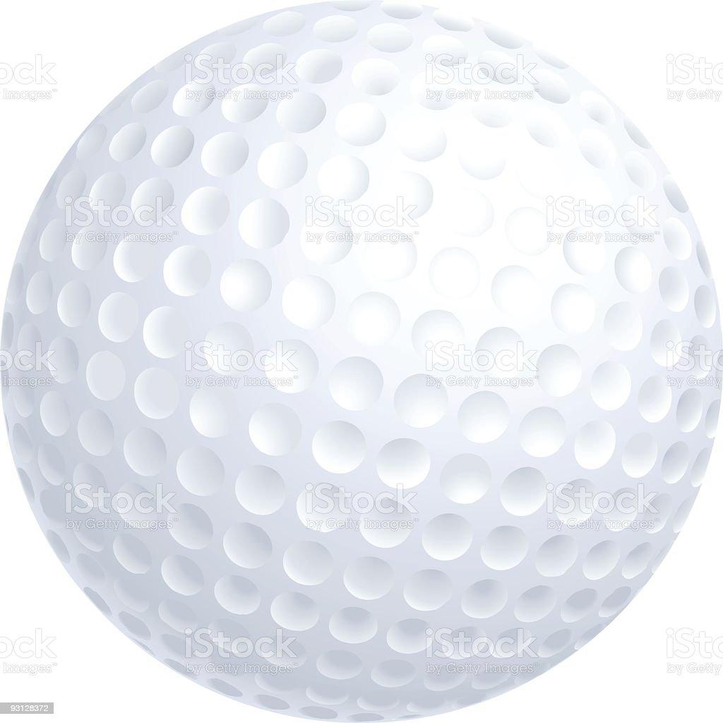 royalty free golf ball clip art vector images illustrations istock rh istockphoto com clipart golf ball and club clipart golf ball vector free download