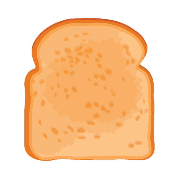 Best Slice Of Bread Illustrations, Royalty-Free Vector ...