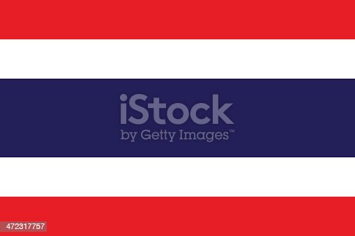 istock A close-up of the flag of Thailand 472317757