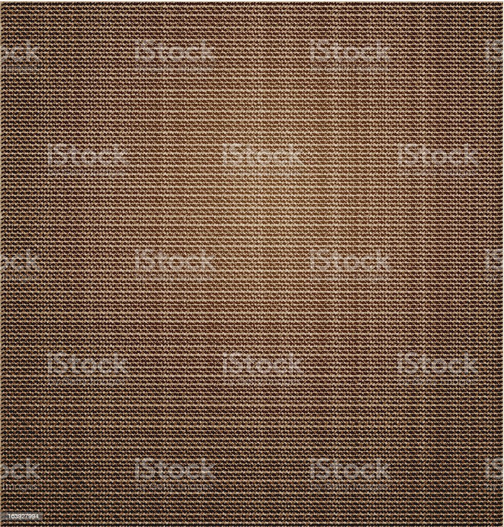 Cloth canvas beige texture. Vector royalty-free stock vector art