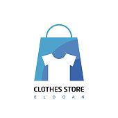 Cloth Symbol Design For Cloth Retai And Store