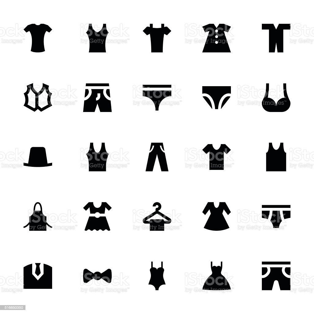 Clothes 6 vector art illustration
