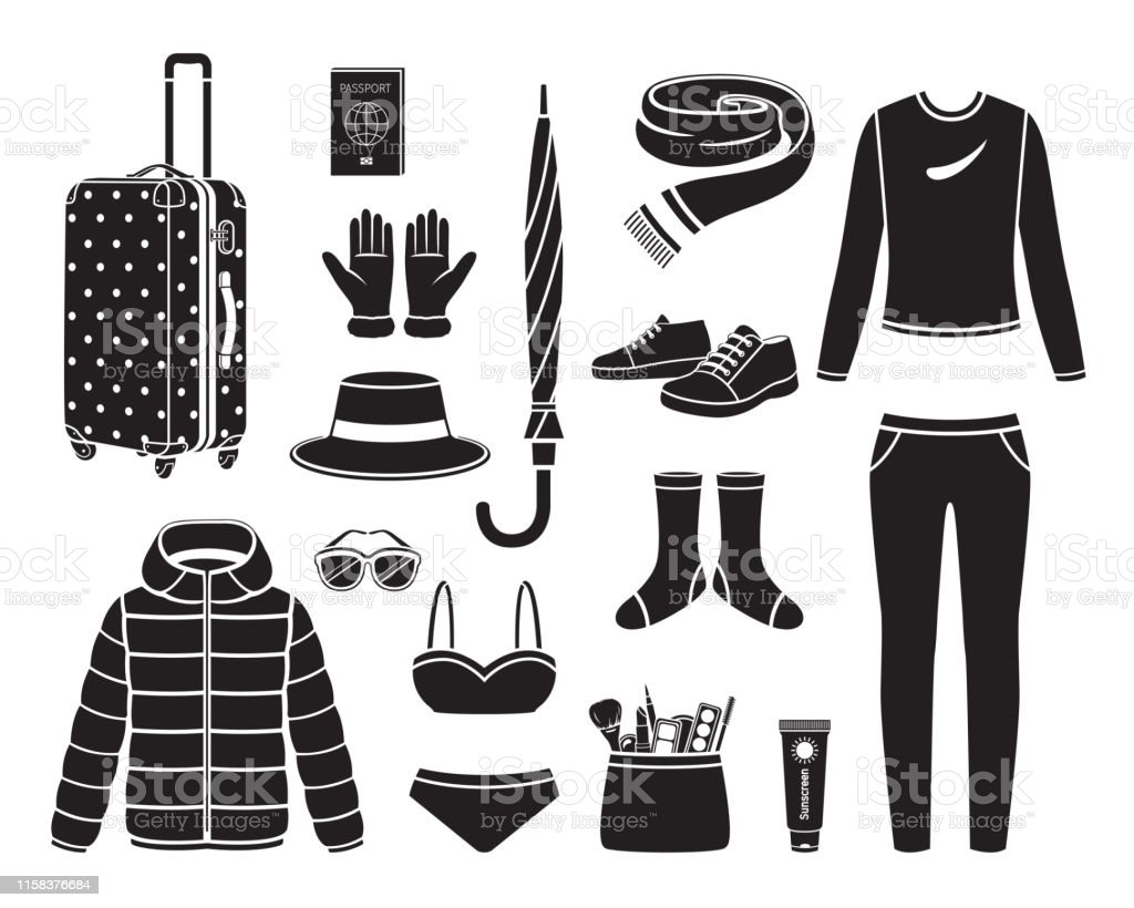 Clothes And Necessities For Winter Season Travel Trip