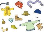 Clothes doodles