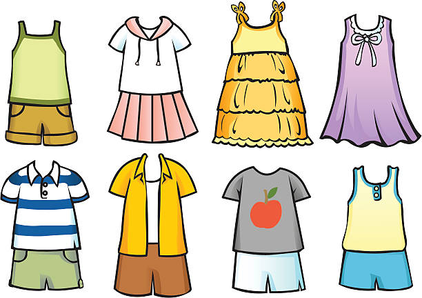 Best Summer Clothes Illustrations, Royalty-Free Vector ...