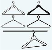 Kleiderbügel clipart  Vintage Clothes Hanger Clip Art Download 993 clip arts (Page 1 ...