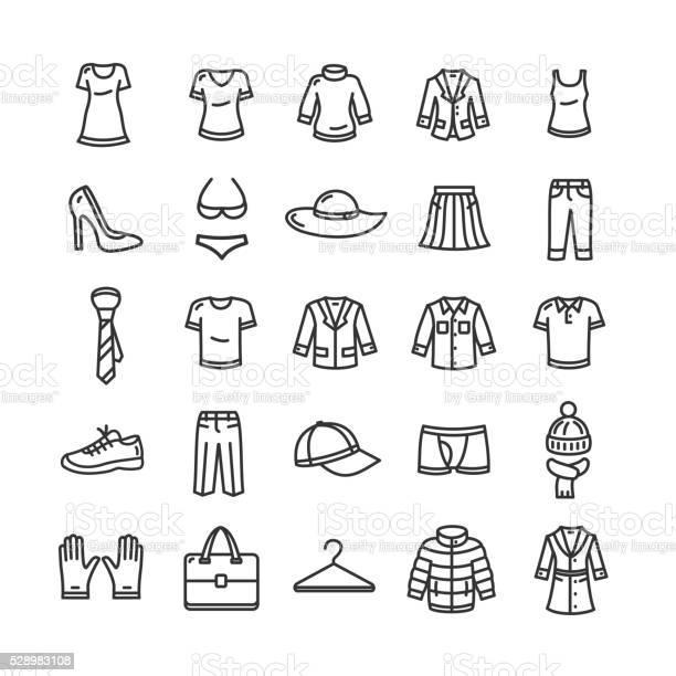 Clothes icon set vector vector id528983108?b=1&k=6&m=528983108&s=612x612&h=4 es3isjgscsyyr bk4t vl668f6lfllfrhzoyw0fly=