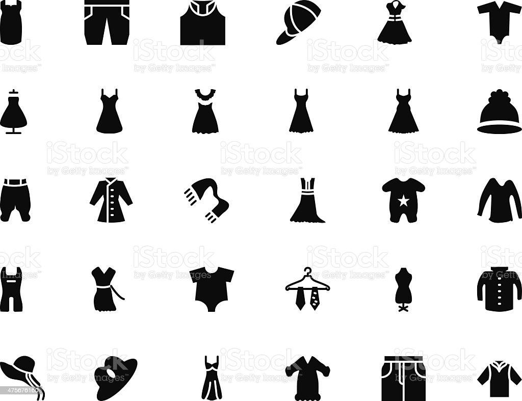 Clothes Line 4 vector art illustration