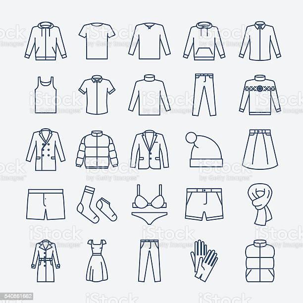 Clothes linear icons vector id540861662?b=1&k=6&m=540861662&s=612x612&h=fwmdxj fkxalmv mgg0lgr ly8 rmr5n4zyik 0wzfo=