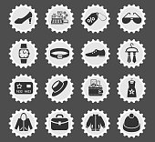 clothes shop web icons for user interface design