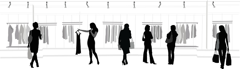 Clothes Shopping Mall