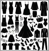 Clothing- Fashion Silhouette