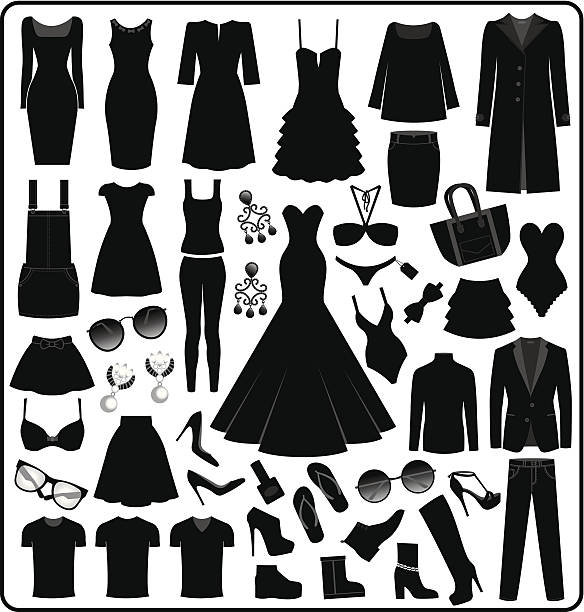 Royalty Free Dress Clip Art Vector Images Illustrations Istock