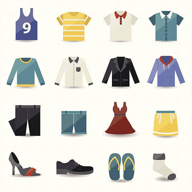 illustrations, cliparts, dessins animés et icônes de icônes de vêtements - homme slip