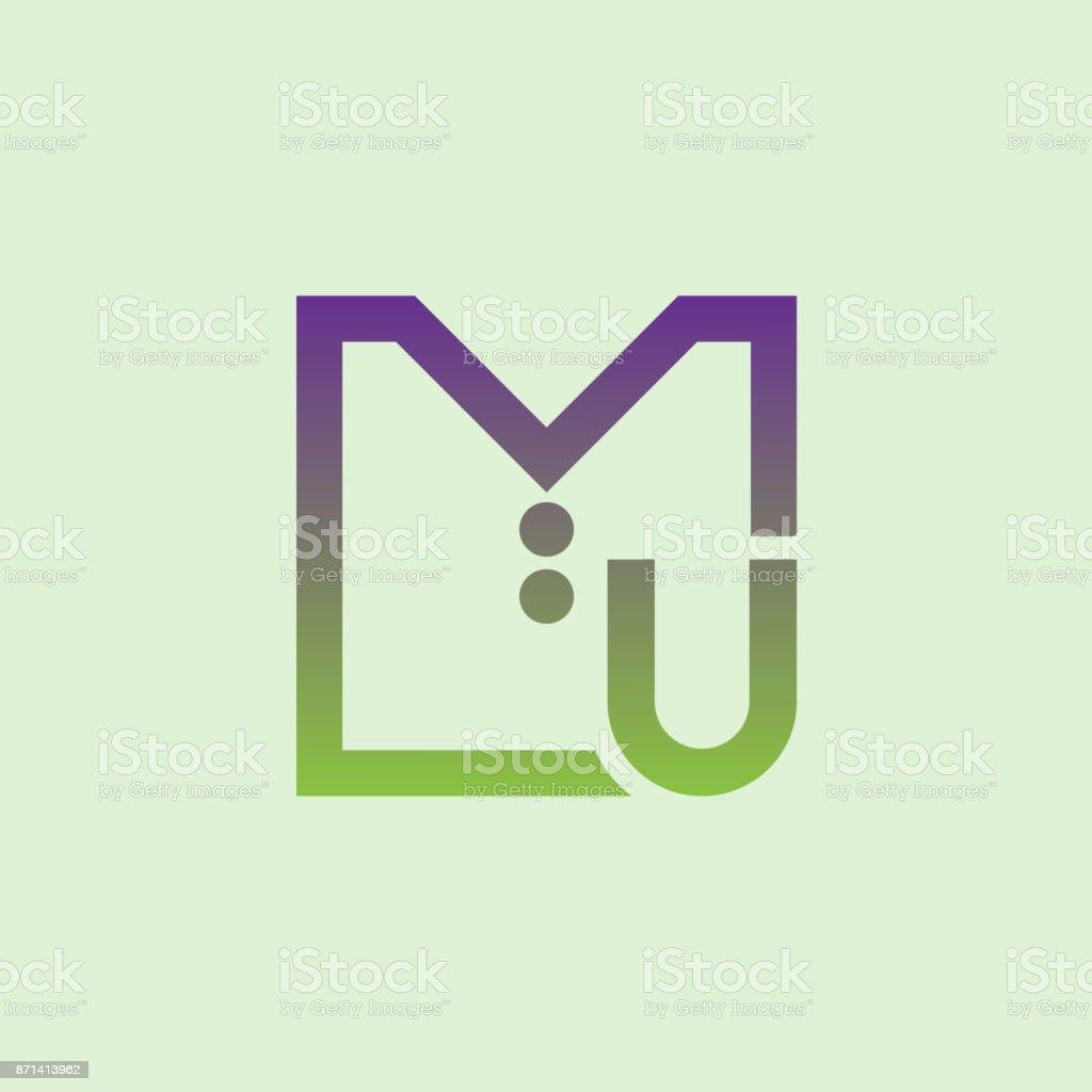 Ilustração De Roupa Inicial Letra U ícone Do Design E Mais Banco De