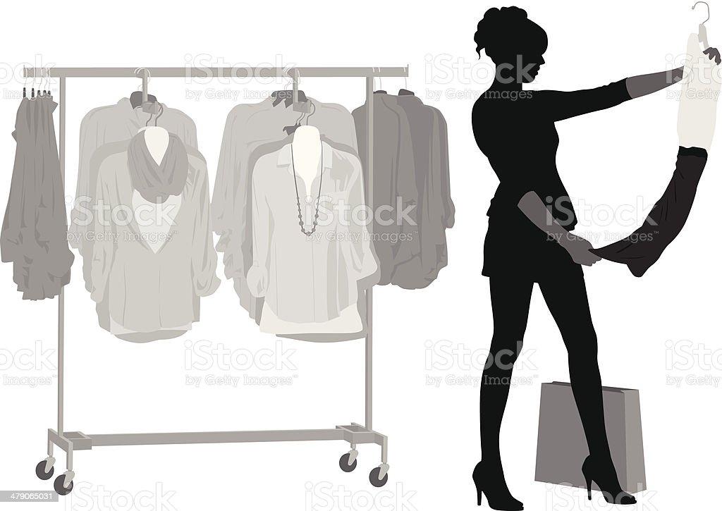 Clothing Sales royalty-free stock vector art