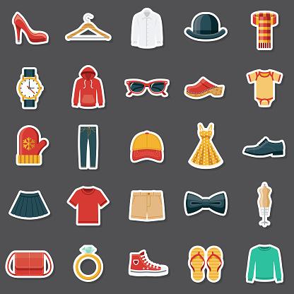 Clothing Sticker Set