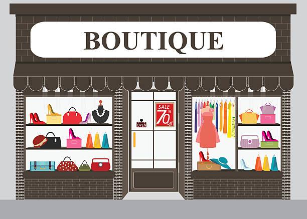 Boutique on Clothing Store Interior Design
