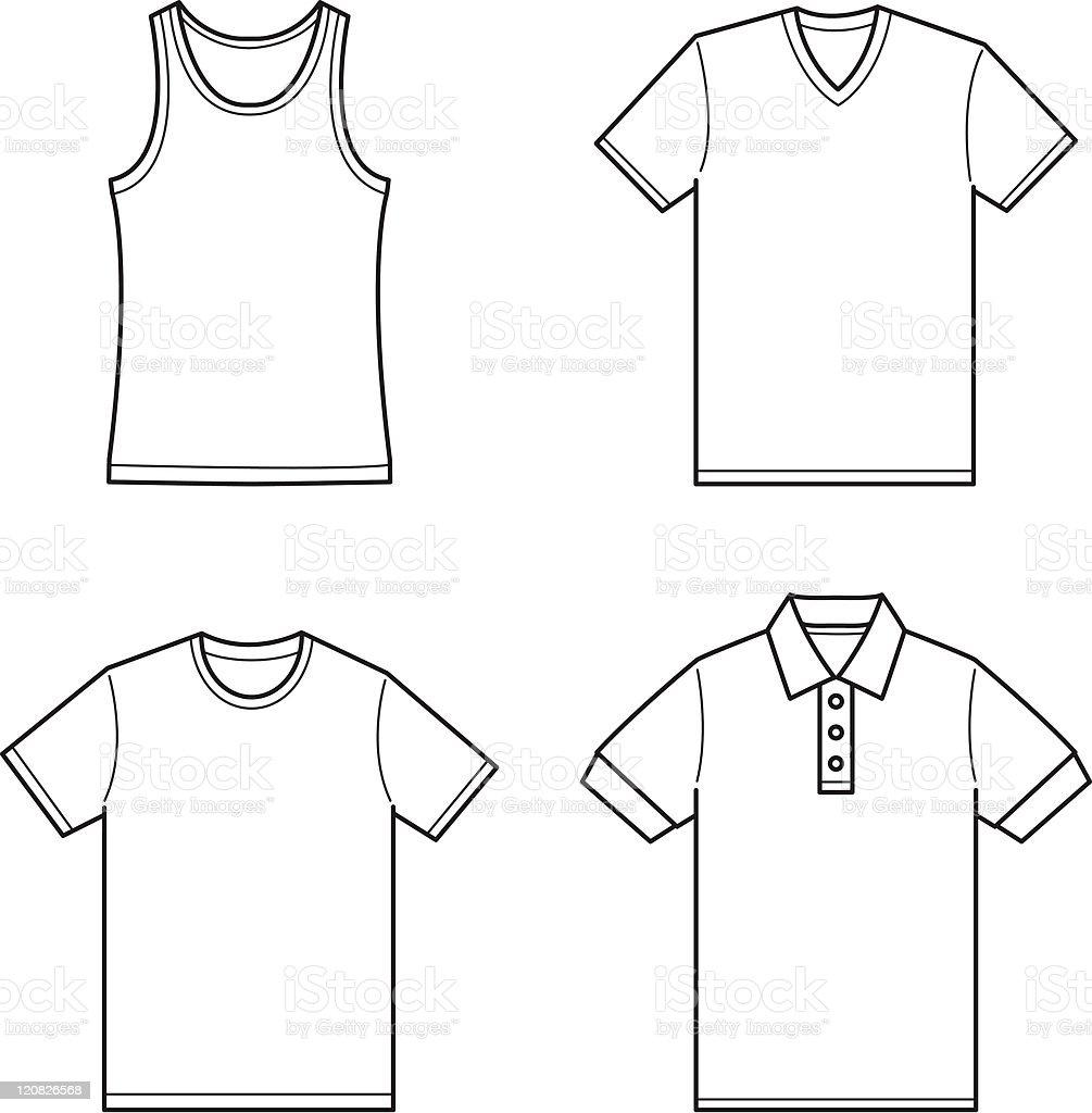 clothing royalty-free stock vector art
