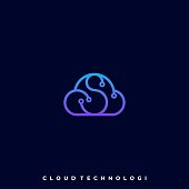 Cloud Color Illustration Vector Template. Suitable for Creative Industry, Multimedia, entertainment, Educations, Shop, and any related business.