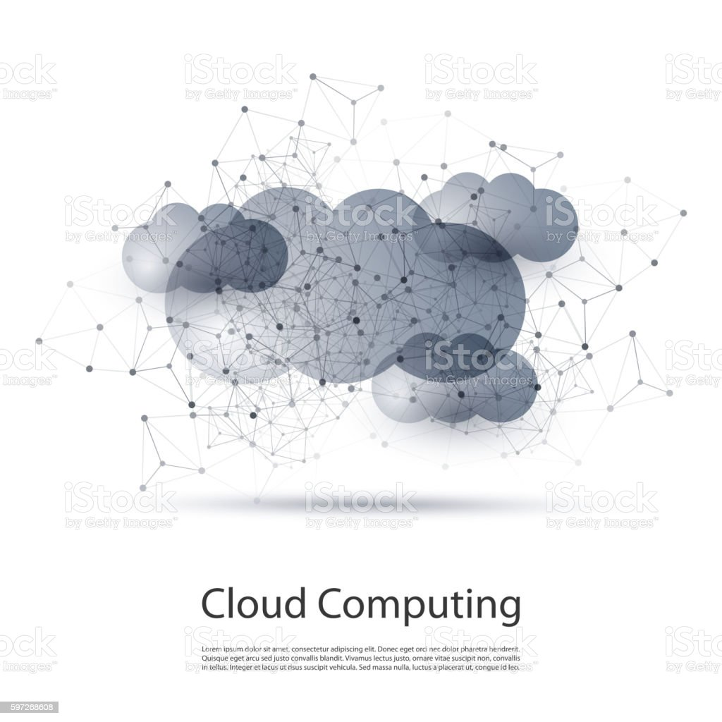 Cloud Computing and Networks Concept royalty-free cloud computing and networks concept stock vector art & more images of abstract
