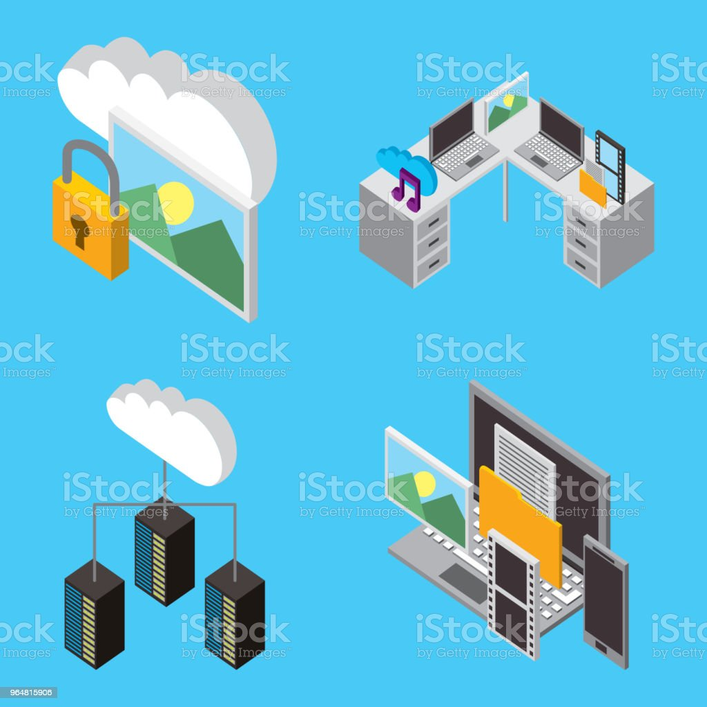 cloud computing storage royalty-free cloud computing storage stock vector art & more images of backup