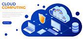 istock Cloud Computing Technology Isometric 1199615395