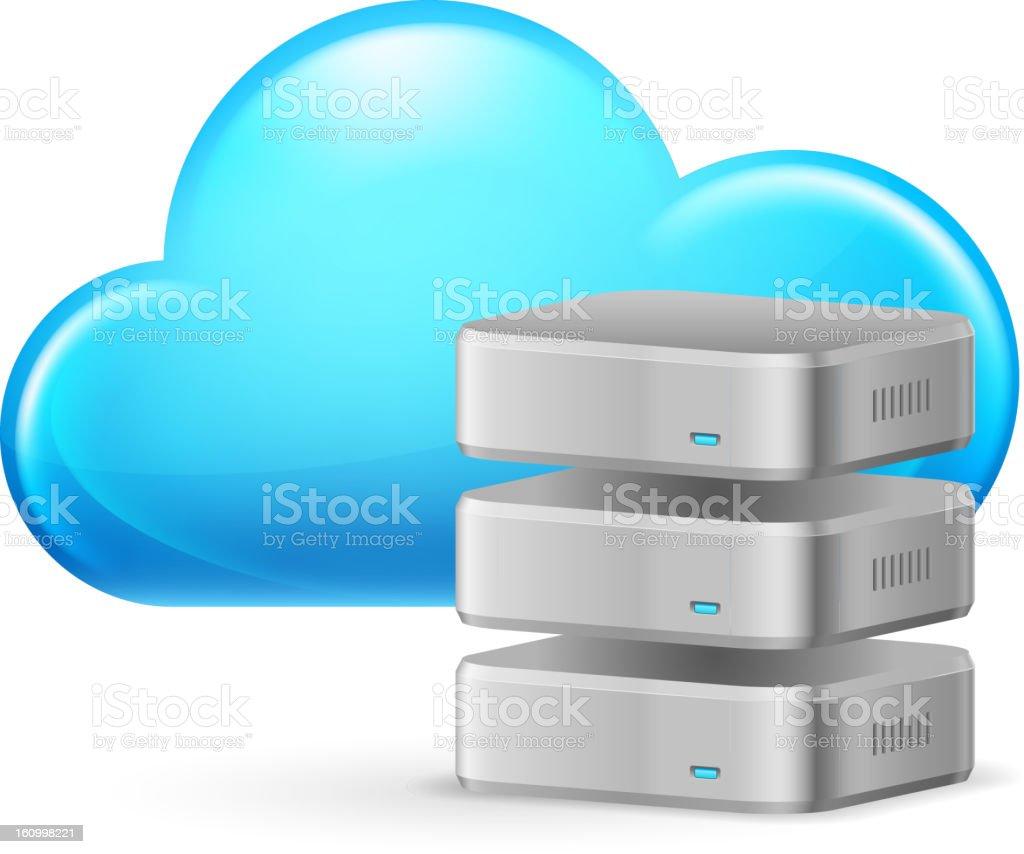 Cloud computing royalty-free cloud computing stock vector art & more images of cloud - sky