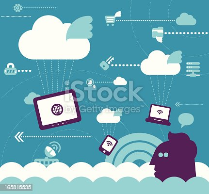 istock Cloud computing 165815535