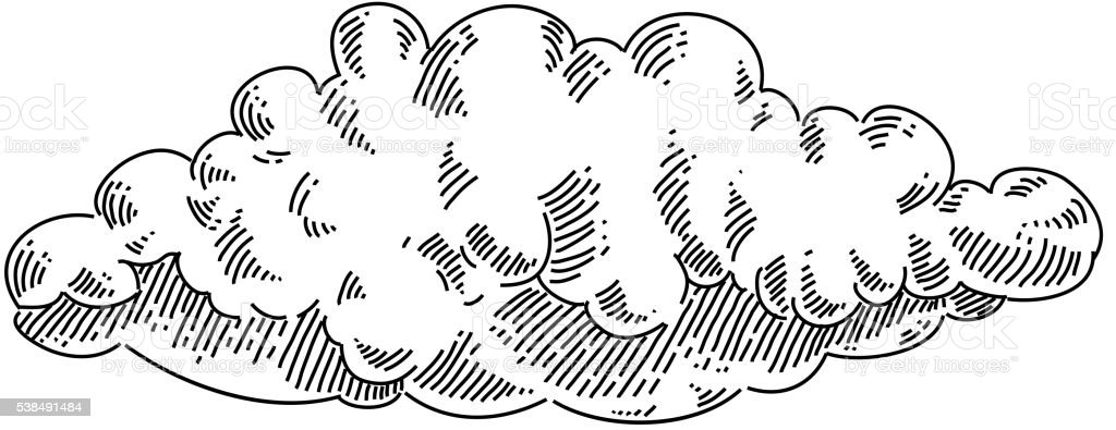 nuage de dessin nuage de dessin cliparts vectoriels et plus dimages de croquis - Dessin De Nuage