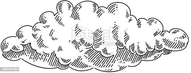 Nuage de dessin cliparts vectoriels et plus d 39 images de - Nuages dessin ...