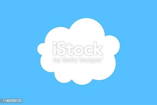 istock Cloud icon 1163293122