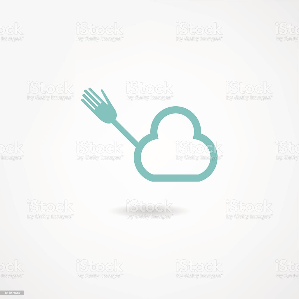 cloud icon royalty-free cloud icon stock vector art & more images of abstract