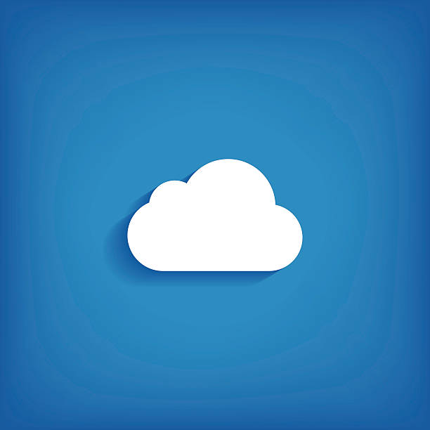 Cloud Icon vector art illustration