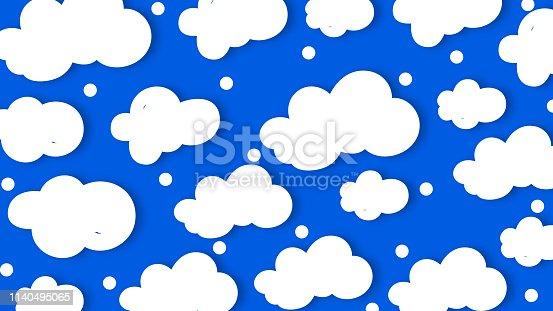 Cloud pattern background