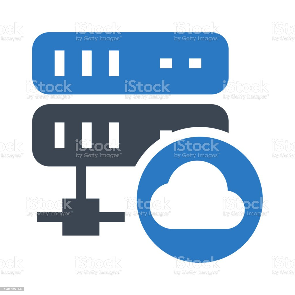 Cloud Server Stock Vector Art & More Images of Business