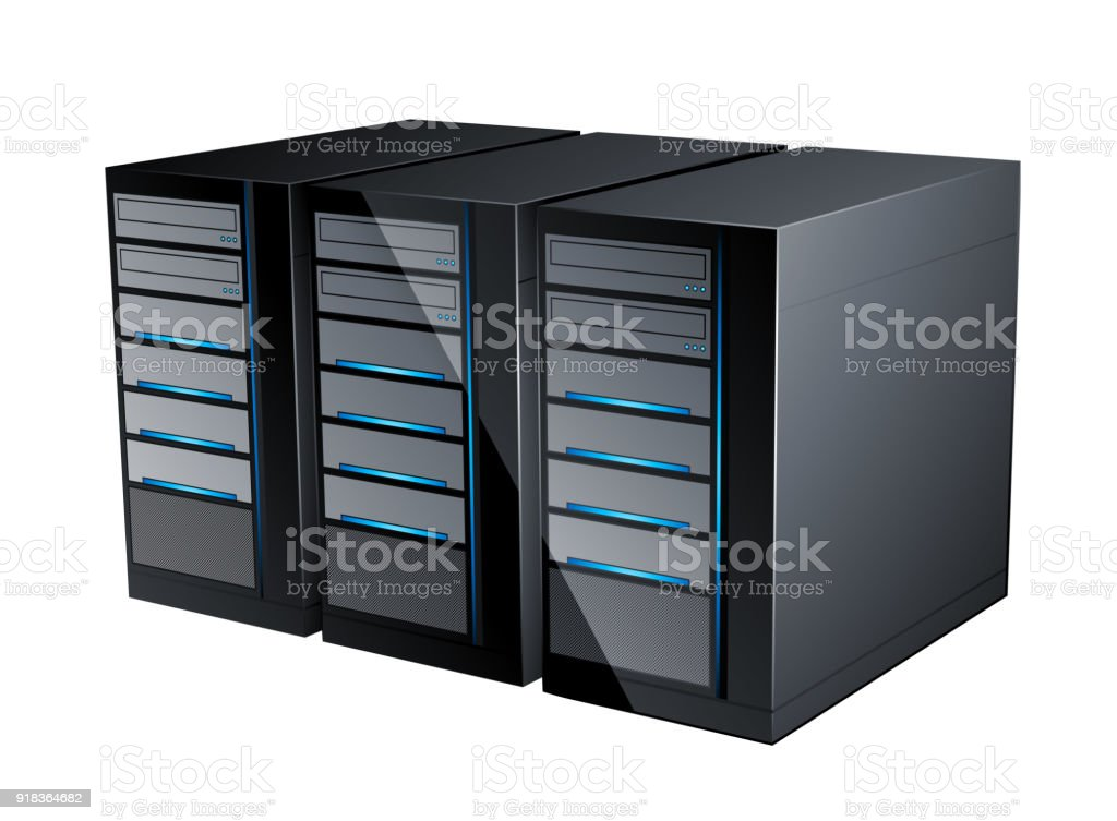cloud servers icon stock vector art more images of backgrounds