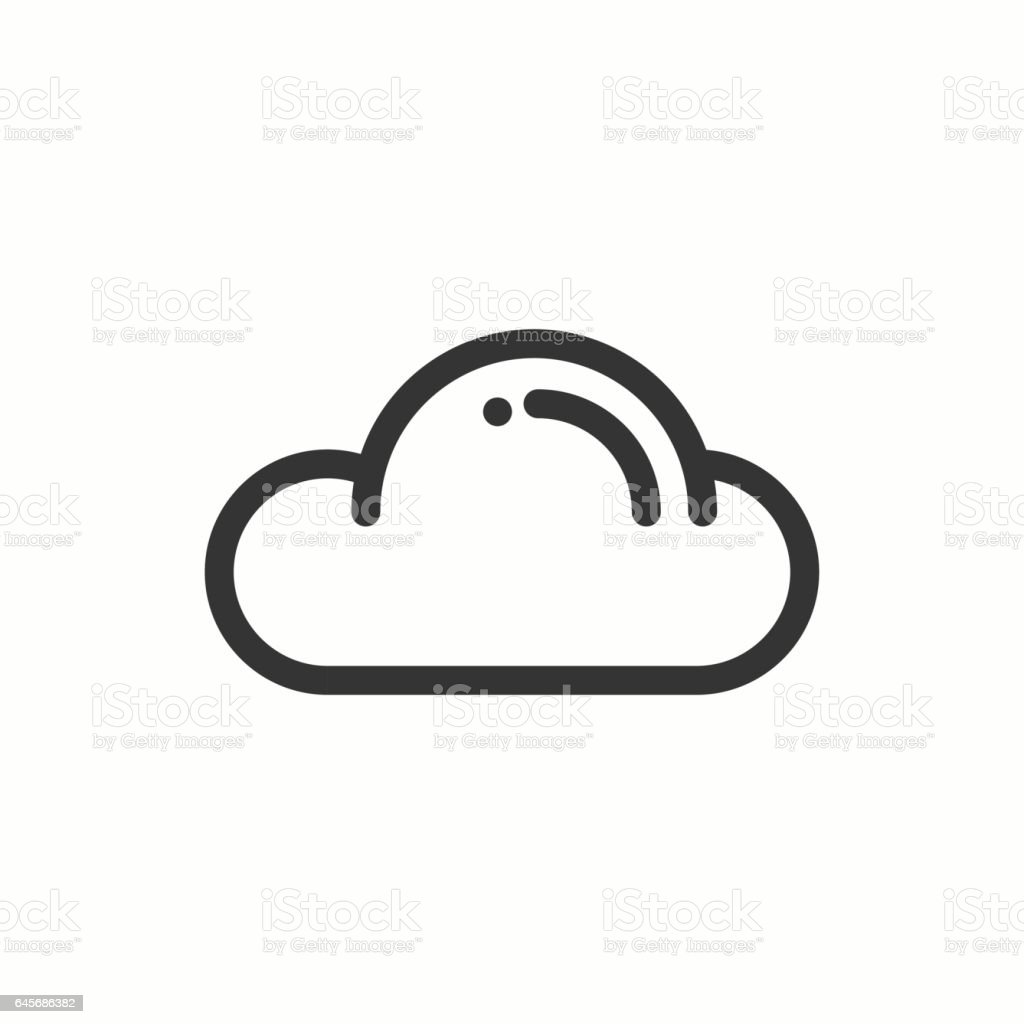 Cloud sky heaven line simple icon weather symbols meteorology cloud sky heaven line simple icon weather symbols meteorology forecast buycottarizona Gallery