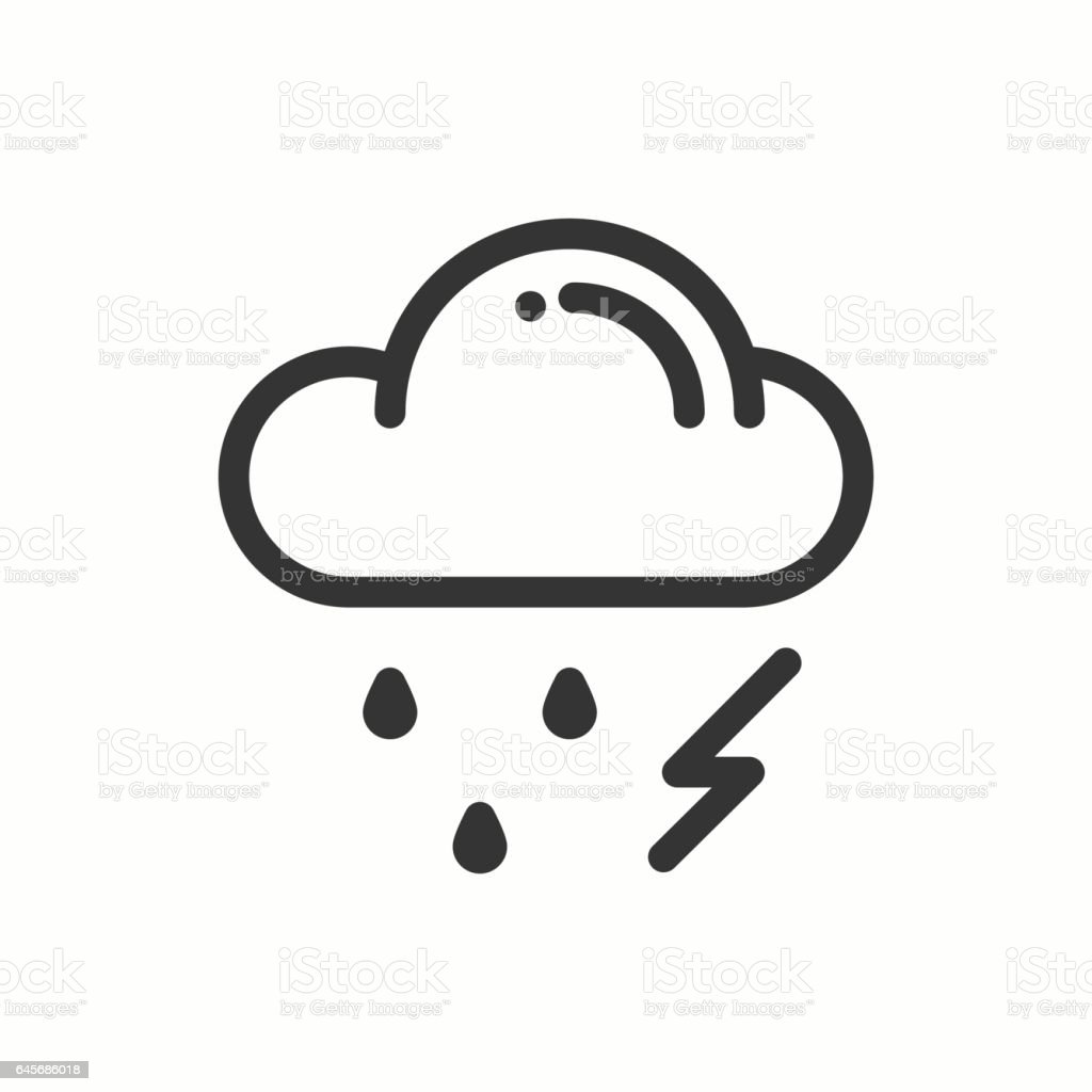 Cloud sky rain storm line simple icon weather symbols meteorology cloud sky rain storm line simple icon weather symbols meteorology buycottarizona Gallery