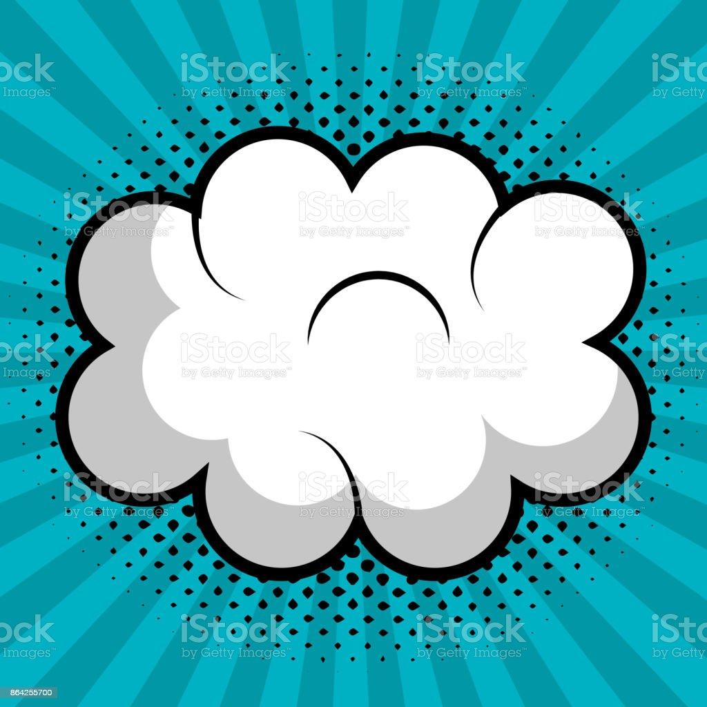 cloud speech pop art design royalty-free cloud speech pop art design stock vector art & more images of abstract