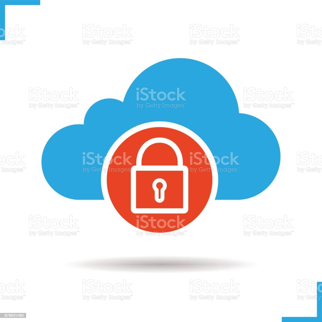Cloud storage access denied icon royalty-free cloud storage access denied icon stock vector art & more images of accessibility
